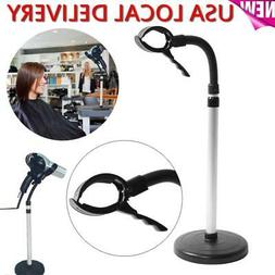 Portable Hair Dryer Stand Holder Countertop Hands Free Blow
