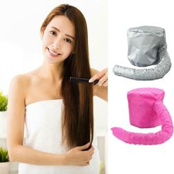 Portable Hair Drying Cap Soft Bonnet Hood Hat Blow Dryer Hai