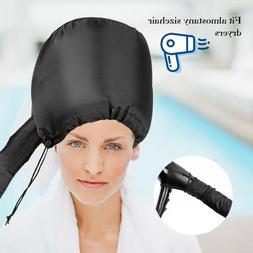 Portable Hair Drying Cap Soft Bonnet Hood Hat Blow Dryer Oil