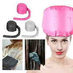 Portable Soft Hair Drying Cap Bonnet Hood Hat Blow Dryer Oil