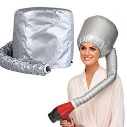 Portable Soft Hair Drying Salon Cap Bonnet Hood Hat Blow Dry