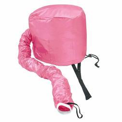 Portable Soft Hair Drying Cap Bonnet Hood Hat Blow Dryer Att