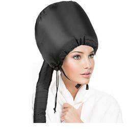 Portable Soft Hair Drying Cap Bonnet Hood Hat Blow Dryer Att