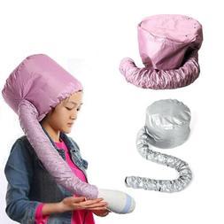 Portable Soft Hair Drying Salon Cap Bonnet Hood Hat Blow Dry