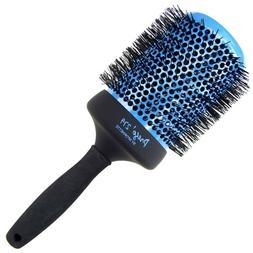 Spornette Prego Round 4ö Hair Brush, Tourmaline Nano-Silver