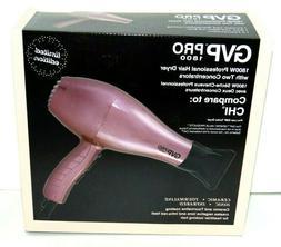 GVP PRO 1800 Hair/Blow-Dryer w 2 Concentrates Ceramic Tourma