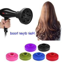 Pro Hair Blow Dryer Comb for Foldable Curly + Diffuser Attac