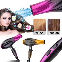 Professional 2800W Hair Blow Dryer Powerful Heat Speed Salon