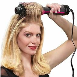 Professional Hair Dryer Brush 2 In 1 Hair Straightener Curle