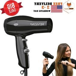 revlon 1875w compact hair dryer travel professional