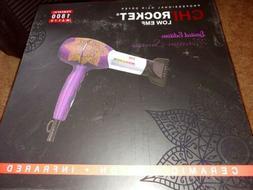 CHI Rocket Hair Blow Dryer Low EMF Ionic Ceramic 1800W MOROC