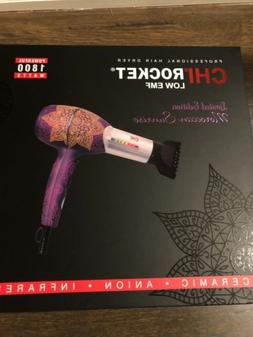 CHI ROCKET LIMITED EDITIONMOROCCAN SUNRISE  BLOW DRYER/DIFFU