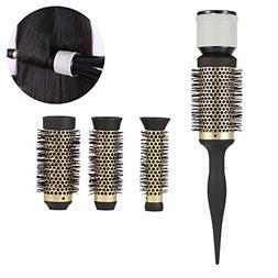 Round Curly Hair Comb Diffuser, Fashion Ceramic Ionic Salon