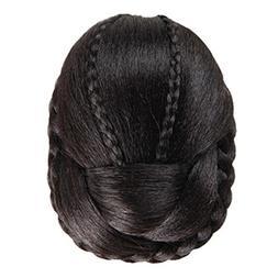 round wig hair braided