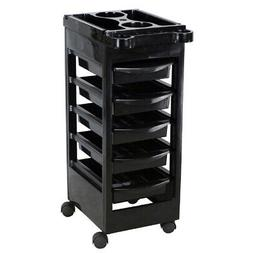 Salon Spa Trolley Storage Cart Coloring Beauty Rollabout Hai