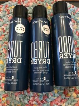 SET OF 3. Matrix Style Link Turbo Dryer Blow Dry Spray 6.25