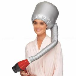 Soft Hair Perm Hair Drying Cap Portable Bonnet Hood Hat Blow