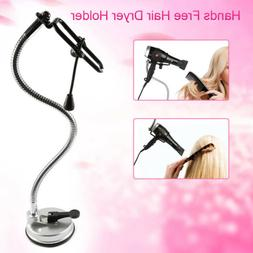 Suction Cup Hands Free Hair Dryer Stand Holder - 360 Degree
