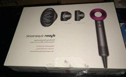 dyson supersonic Blow hair dryer brand new Fuchsia Color 100