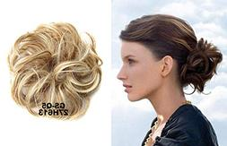 HI GIRL Synthetic Hair Scrunchy Wavy Curly Scrunchie Hairpie
