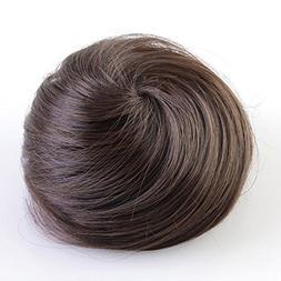 CCbeauty Fashion Man Women Synthetic Scrunchie Hair Bun Cove