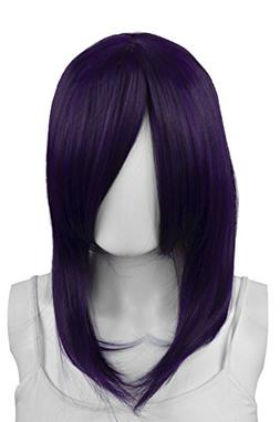 EpicCosplay Theia Purple Black Fusion Medium Wig
