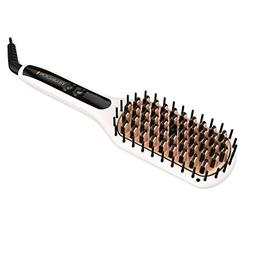 Remington Pro 2-In-1 Heated Straightening Brush with Thermal