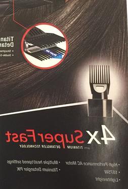 Titanium Detangler PIK for RED Pro 3300 Titanium Pro AC Long