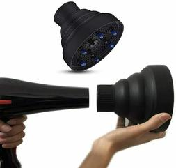 Travel Hair Dryer Diffuser Collapsible For Profession Blow N