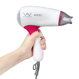 Mini Ionic Hair Dryer Folding Travel Blow Dryer 1000W Compac