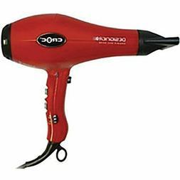 Turboion Croc Designer AC Hair Dryer-  Red- 1875 Watt- Ceram