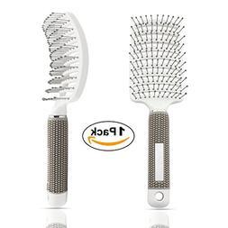 Vent Brush,Flex Vented Detangling Styling Hair Brush for Lon