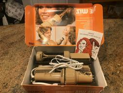 VTG Conair The Wiz with 5 Styling Attachments Blow Dryer Sty